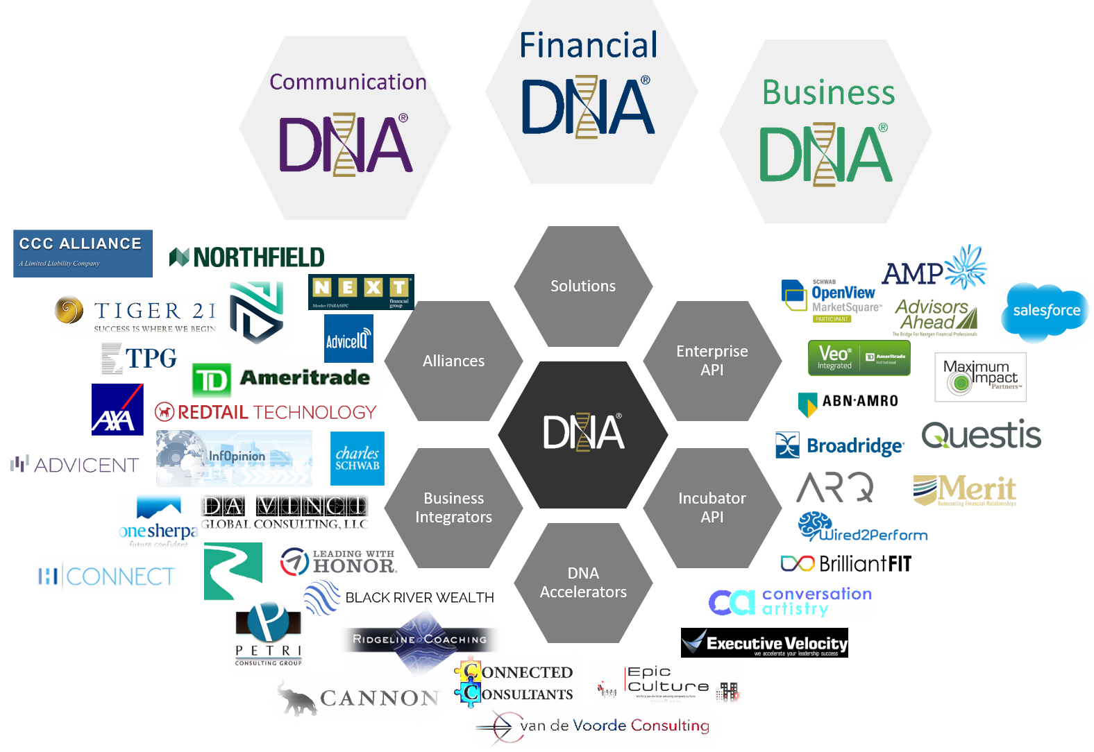 The DNA EcoSystem- DNA Behavior and all of its partners