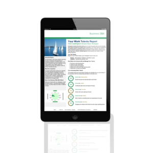 Business DNA Insights on iPad